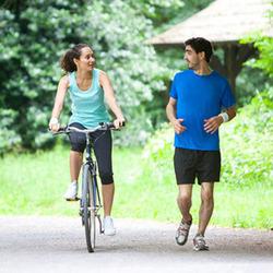 Бег vs Велосипед