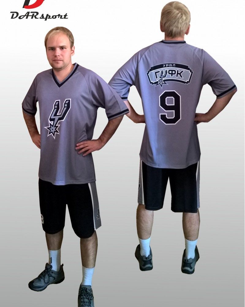 Баскетбольная разминочная футболка