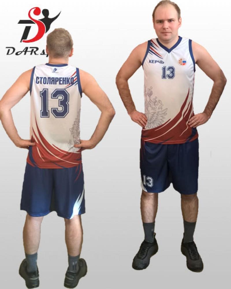 Форма баскетбольная мужская сублимационная