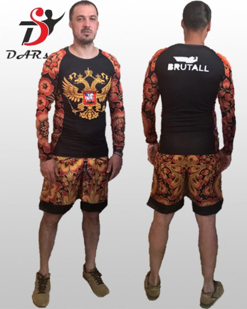 Рашгард и шорты MMA
