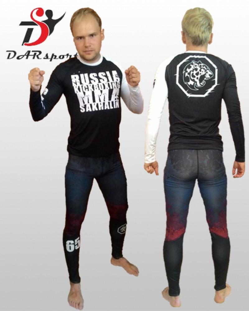 Рашгард и компрессионные штаны