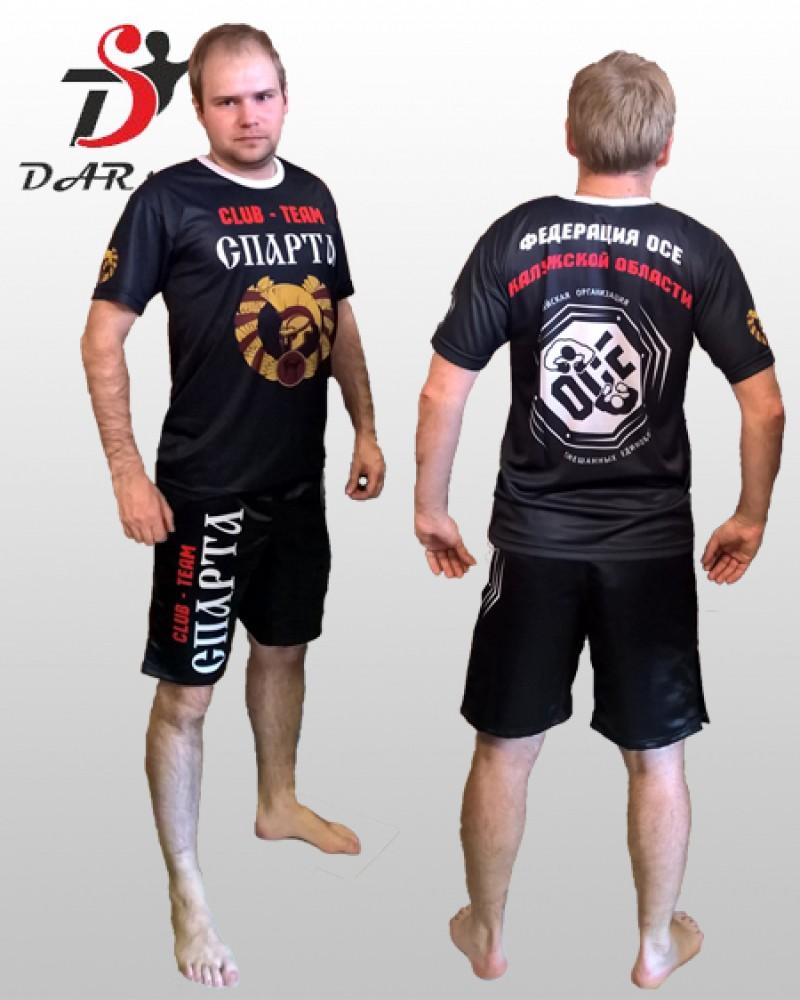 Шорты MMA и сублимационная футболка