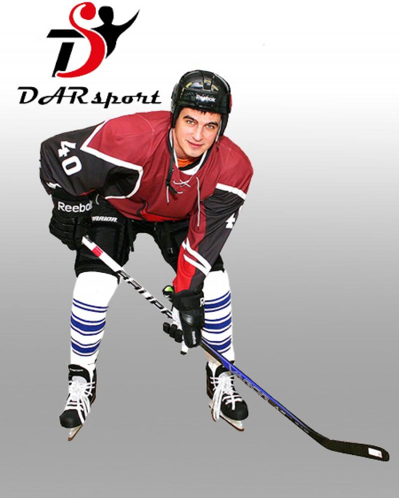 Свитер хоккейный игровой сублимационный со шнуровкой