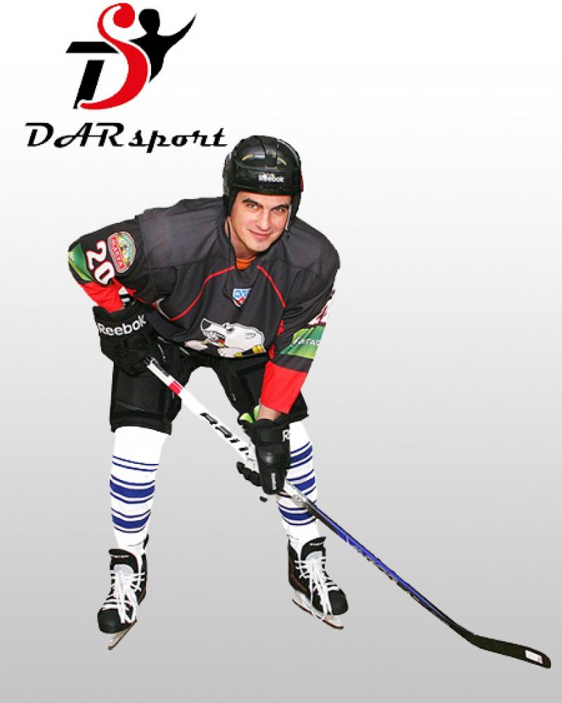 Свитер хоккейный игровой сублимационный профессиональный со шнуровкой