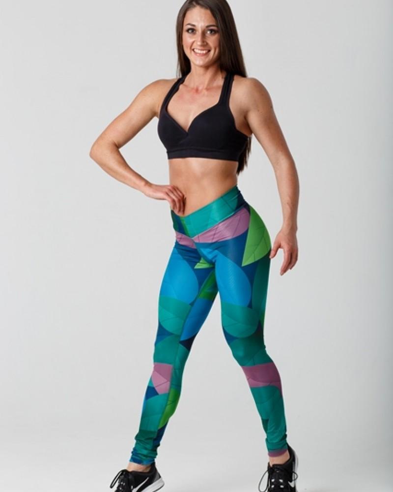 Женские спортивные леггинсы